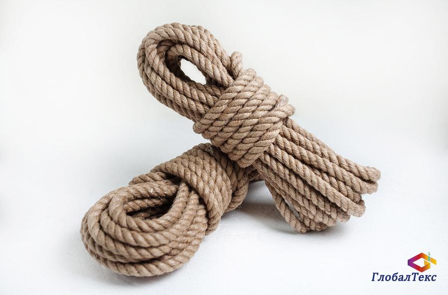Канат (веревка) джутовый