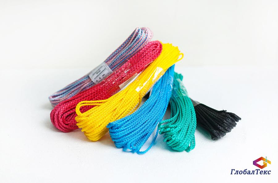 Шнур (веревка) вязаный полипропиленовый ПП