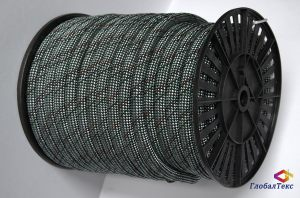 Веревка (шнур) полиамидная ПА капроновая 24-прядная